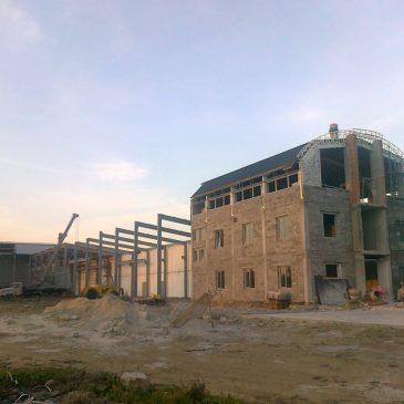 Будівництво нового заводу