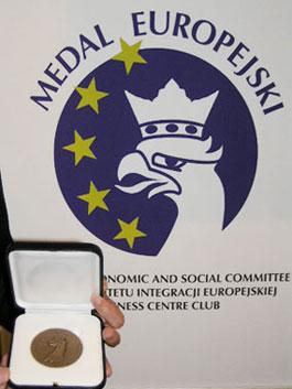 Весы XA…/X наградили Європейской медалью