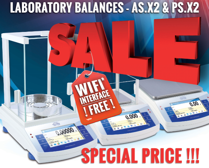 Promotional prices for balances X2 series…