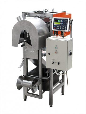 Фасувальна машина турбінного типу для сухих будівельних сумішей, цементу