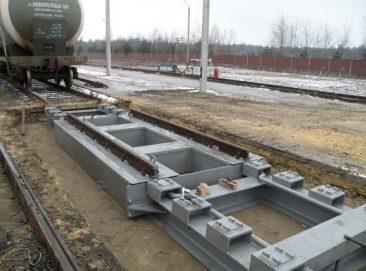"""Railroad track scales """"Monoblock"""""""