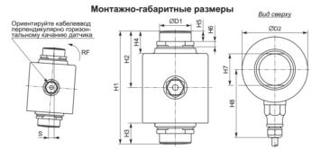 Монтажно-габаритні розміри RC3