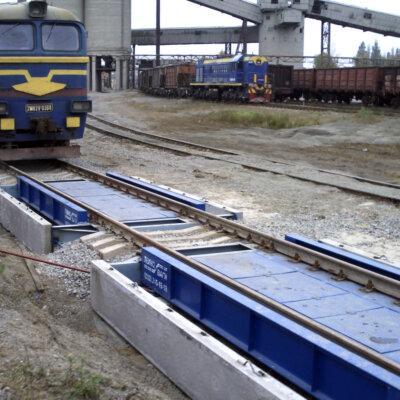 Вагонна вага TBB150C 2 платформи