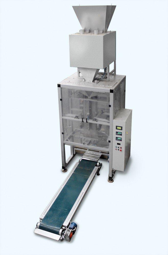 Автомат для пакування пеллет дозами до 15 кг з виготовленням поліетиленових пакетів