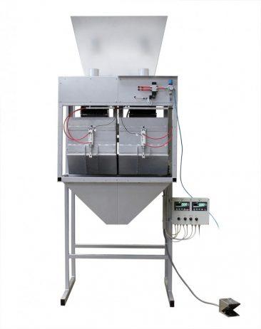 Вібраційна фасувальна машина для вугілля, пеллет, гранул у відкриті мішки