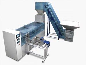 Автомат для фасування сипких продуктів у картонні коробки