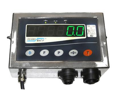 Герметичне виконання вагопроцесора ТВП-12еh