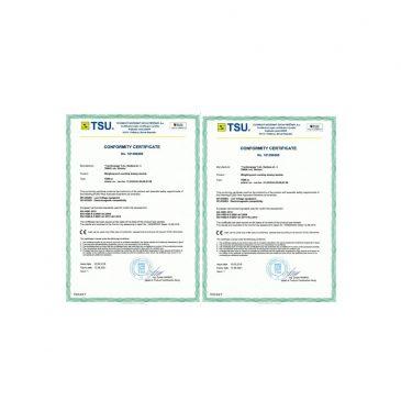 CE conformity certificates
