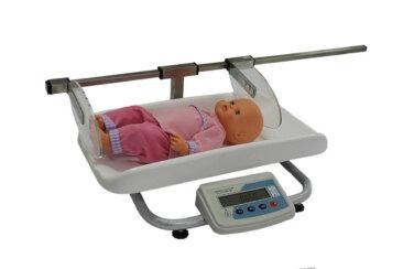 Ваги медичні для немовлят з ростоміром