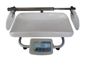 Весы медицинские для новорожденных с телескопическим ростомером