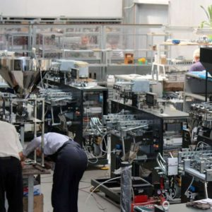 We are preparing automatic machines for export