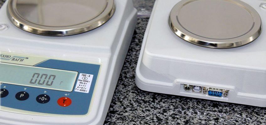 Лабораторные весы ТВЕ с USB-портом