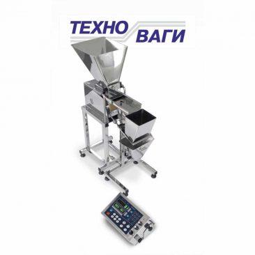 Вібраційна настільна фасувальна машина для сипучих продуктів